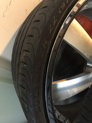 "22"" HRE W Pirelli tires 5x114 for Sale in Torrance, CA"