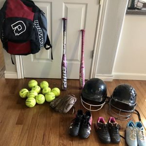 Softball Gear (items sold separately/prices in description) for Sale in Sherwood, OR