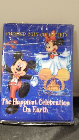 Disney Mickey mouse coin press book for Sale in Westerville, OH