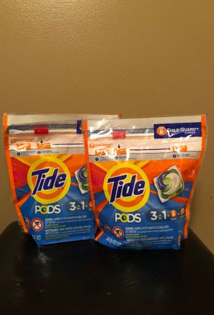 2 Tide pod detergent for Sale in Hamburg, NY