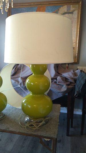 1960s ceramic lamps w/shades for Sale in Menifee, CA