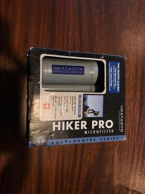 Katadyn Hiker Pro microfilter for Sale in Salem, OR