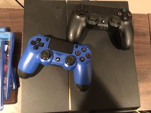 Ps4 500 GB with games for Sale in Port St. Lucie, FL