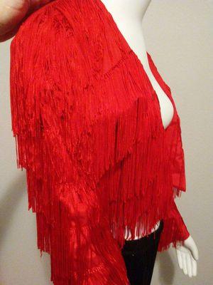 J. Harris Red Fringe Jacket for Sale in Austin, TX
