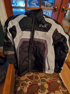 Hwk motorcycle jacket for Sale in Prairieville, LA