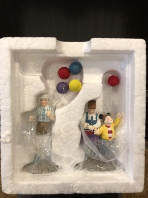 Disney Village collectors item, Balloon Seller, Christmas series, NEW IN BOX for Sale in Perris, CA