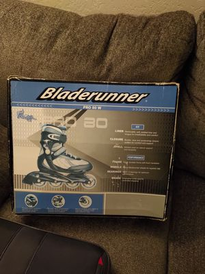 Blade runner Rollerblades Pro 80W Size 7 for Sale in Clovis, CA