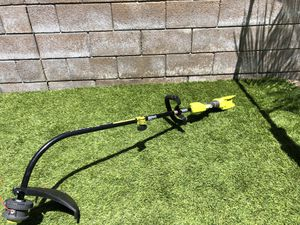 Ryobi 40v curved shaft string trimmer. Tool only for Sale in Fontana, CA
