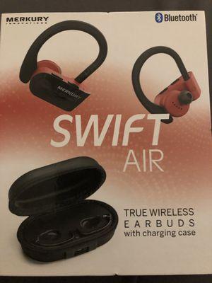 MERKURY Swift Air Bluetooth Wireless Earbuds for Sale in Berenda, CA