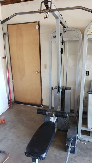 Lat pulldown/low row for Sale in Modesto, CA