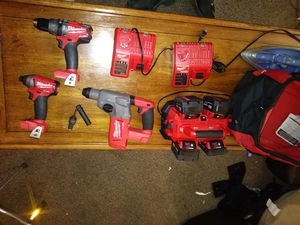 Milwaukee fuel. Pieces sold seperately. for Sale in Milwaukie, OR