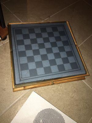 Glass Checker/Chess Board Game for Sale in Rancho Mirage, CA