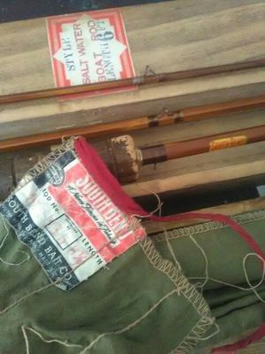 South bend antique fishing rod number 359 for Sale in San Leandro, CA