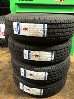 4 NEW FOR SMALL TRAILER TIRES ST205/7514 for Sale in San Antonio,  TX