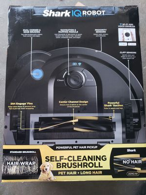 Shark IQ RV101AE App-Controlled Self-Charging Robot Vacuum for Sale in Los Angeles, CA