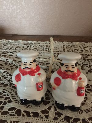 Fat Chef Salt and Pepper Shakers for Sale in Pasadena, CA