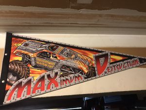 Monster Jam Pennant for Sale in Kent, WA
