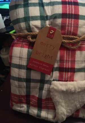 Soft Sherpa small reversible blankets for Sale in Chicago, IL