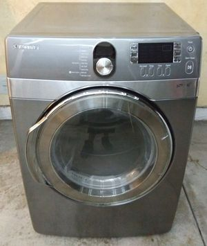 Samsung Stainless Steel Gas Dryer for Sale in Downey, CA