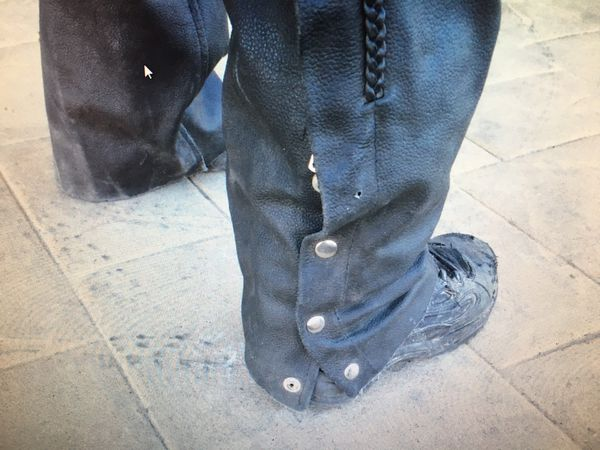Leather Insulated Riding Chaps