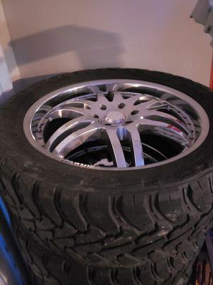 Lexani rims 22x12x33s Toyo tire mt for Sale in Spring, TX