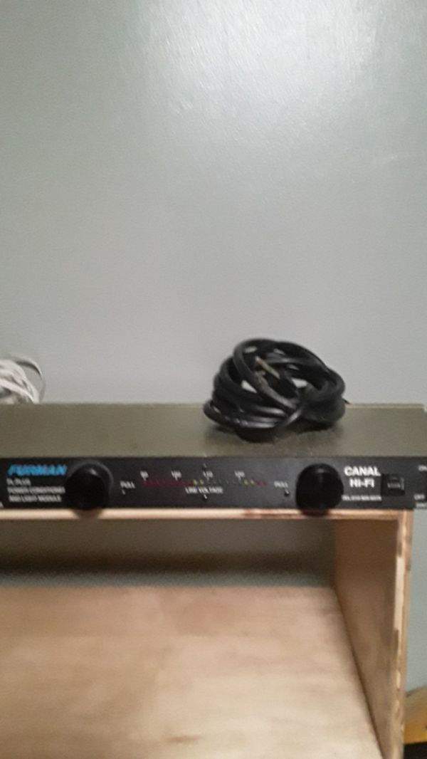 Furman pl plus power conditioner and light module