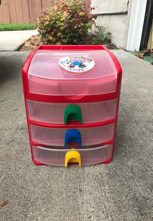 Kids set of drawers for desk for Sale in San Diego, CA