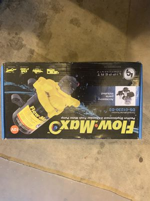 Flow Max fresh water pump 12V for Sale in Happy Valley, OR