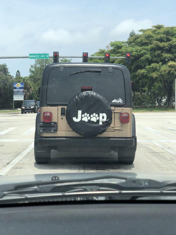 Jeep Wrangler Tj 2000