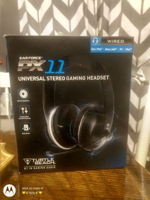 Xbox/PS3 gaming headphones brand new in box for Sale in Spanaway, WA