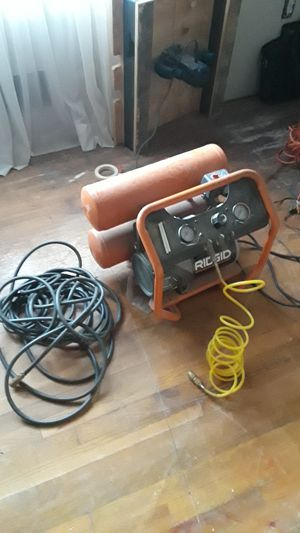 150psi Ridgid Air Compressor for Sale in Jonesboro, GA