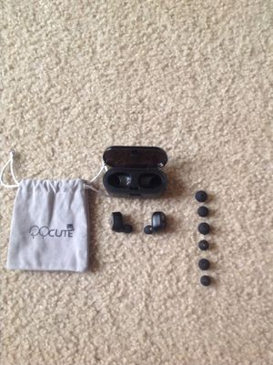 Brand new QQcute earbuds bluetooth cheap ONLY PICK UP for Sale in Tomball, TX