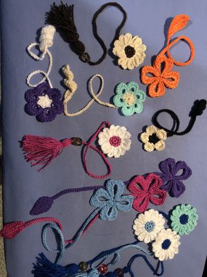 Flowers Bookmark handmade for Sale in Arlington, VA