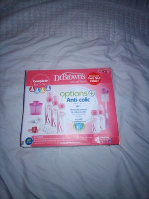 Dr Browns baby bottles new open box for Sale in Tolleson, AZ