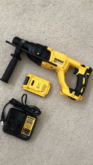 DeWalt XR Brushless 20-Volt 1 in. SDS-plus D-Handle Concrete/Masonry Rotary Hammer with Battery and Charger for Sale in Rowland Heights, CA