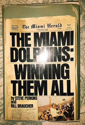 Rare Book: Miami Dolphins, Winning Them All for Sale in Tallahassee, FL