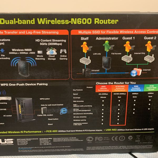 ASUS RT-N53 Wireless Gaming Router