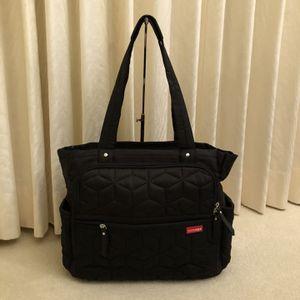 Skip Hop Diaper Bag Large Tote Bag, Black for Sale in Foster City, CA