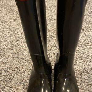 Hunter Rain Boots Black Size 7 for Sale in Norwalk, CT