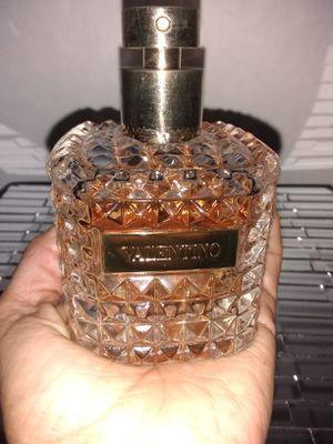 Donna Fragrance VALENTINO 3.4 oz Perfume EDP Iris Rose Used 88% left for Sale in Fullerton, CA