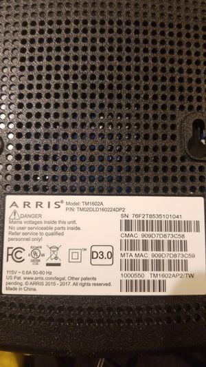 Arris TM1602 Cable Internet Modem for Sale in Lexington, SC