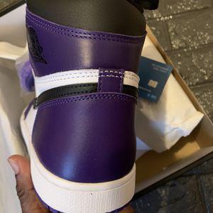 Jordan 1 High Court Purple for Sale in Seymour, CT