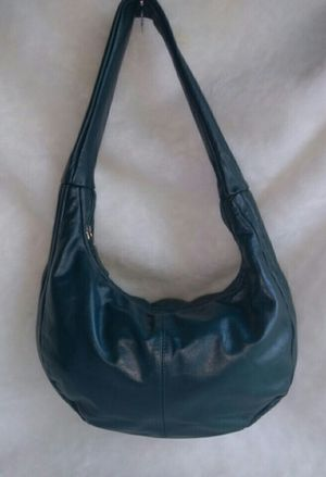 Green Leather Hobo Bag for Sale in Overland, MO