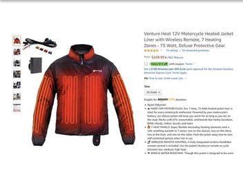 2 heated jackets-Med & Large wore once- Motorcycle for Sale in Lithonia,  GA
