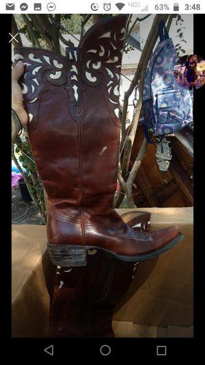 Ariat Ladies Brown Hacienda Vintage Caramel Boots for Sale in Nashville, TN