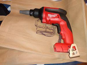 Milwaukee sheetrock gun only tool brand new for Sale in Winter Springs, FL