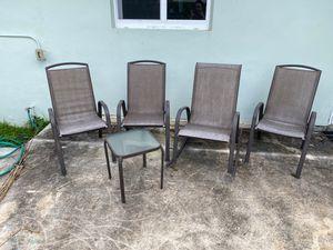 Outdoor furniture set for Sale in North Miami Beach, FL