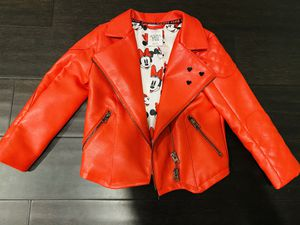 Toddler Disney Store Minnie Mouse Biker Jacket for Sale in Hanover, MD