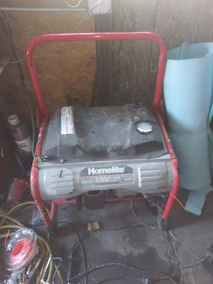 Homelite portable generator 5000 watts for Sale in Chicago, IL