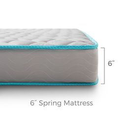 """AFFORDABLE BEDS⭐️NICE & COMFORTABLE TWIN/TWIN XL SIZE 6"""" STANDARD MATTRESS⭐️BRAND NEW⭐️DELIVERY AVAILABLE 🚚 for Sale in Las Vegas,  NV"""